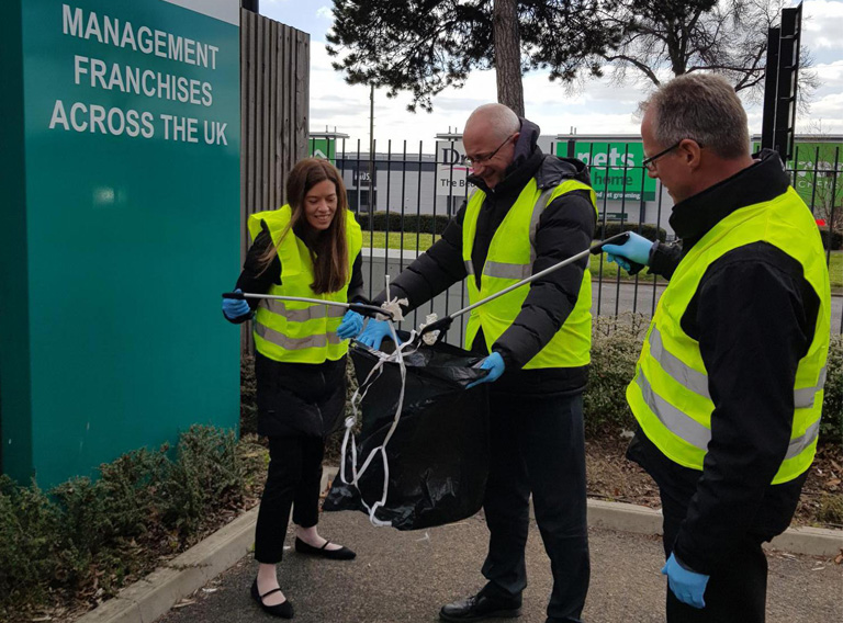 Keep Britain Tidy – Great British Spring Clean campaign 2019