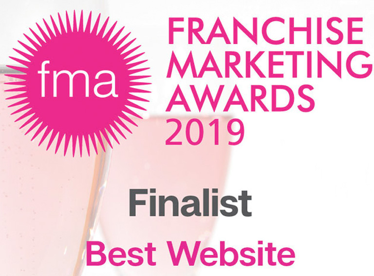 Finalist in the national Franchise Marketing Awards