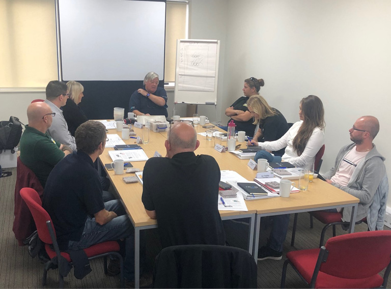 Staff receive industry-standard training from the NCCA