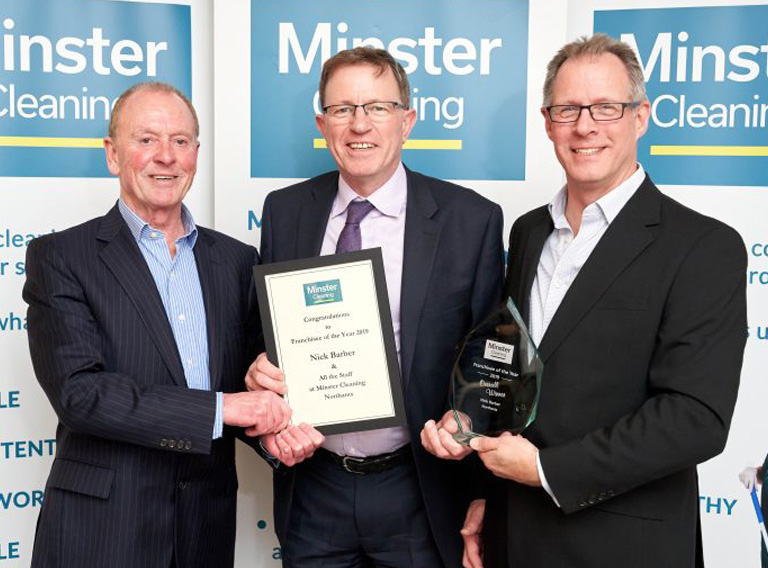 Celebrating success and awarding top franchisees